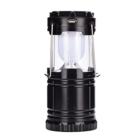 lámpara LED con Solar linterna ligero recargable mango uso para ideal emergencia AsiaLONG portátil lámpara plegable de linterna para colgar de dxeQroBCW