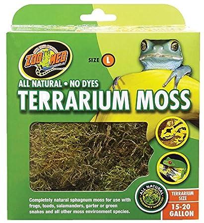 Zoo Med Laboratories Terrarium Moss 30-40 Gallons - CF2-X CF2X