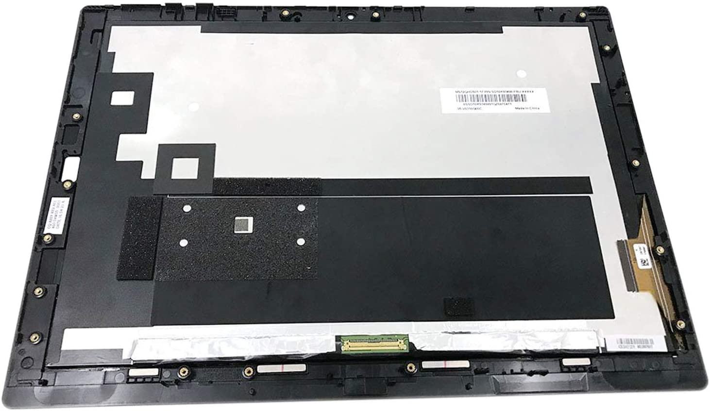 "12"" Touch Screen Replacement LCD Display QHD 2160x1440 for Lenovo Thinkpad x1 Tablet 20GG (with Bezel Frame)"