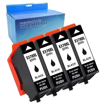 Teng® - Cartucho de Tinta de Repuesto para Epson 378XL Compatible ...