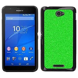 Caucho caso de Shell duro de la cubierta de accesorios de protección BY RAYDREAMMM - Sony Xperia E4 - Visión nocturna estático Spec Op