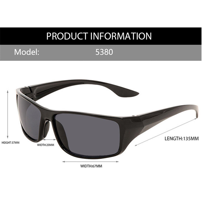 Amazon.com: Adam Woolf Super Cool Gradient Sunglasses Men ...