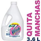 Vanish Quitamanchas Líquido, color Blanco, 3600 ml