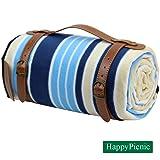 "HappyPicnic Extra Large Outdoor Blanket, 79"" x"