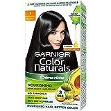 Garnier Color Naturals, Shade 1, Natural Black 70 ml + 60 gm