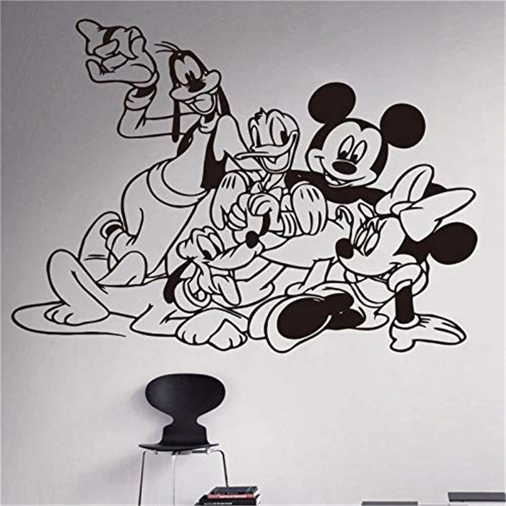 pegatina de pared pegatina de pared 3d Mickey Mouse Tatuajes de ...