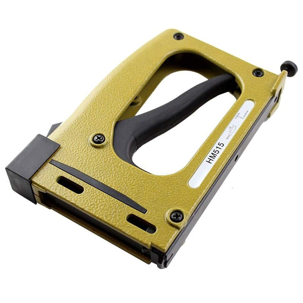 Multi-Function Manual Staple Gun Manual Stapler Manual Nailer Frame Tacker with 1000 Pcs Free Cost Nails by TIAN