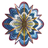 Iron Stop D258-6 Hyper Splash Wind Spinner, 6.5-Inch