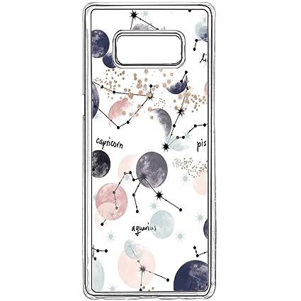 super popular 96dbc b1ff9 Amazon.com: Samsung Galaxy S8 Case Constellation Galaxy S8 Clear ...