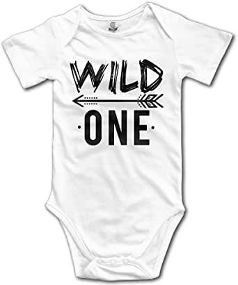 OWLNA Wild One Toddler Baby Onesies Toddler Clothes