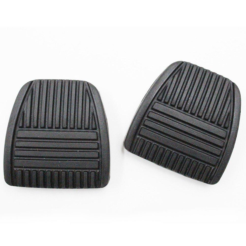 Koauto 2/Set New Brake Or Clutch Pedal Pad for Toyota Camry Rav4 tC xB 31321-14020