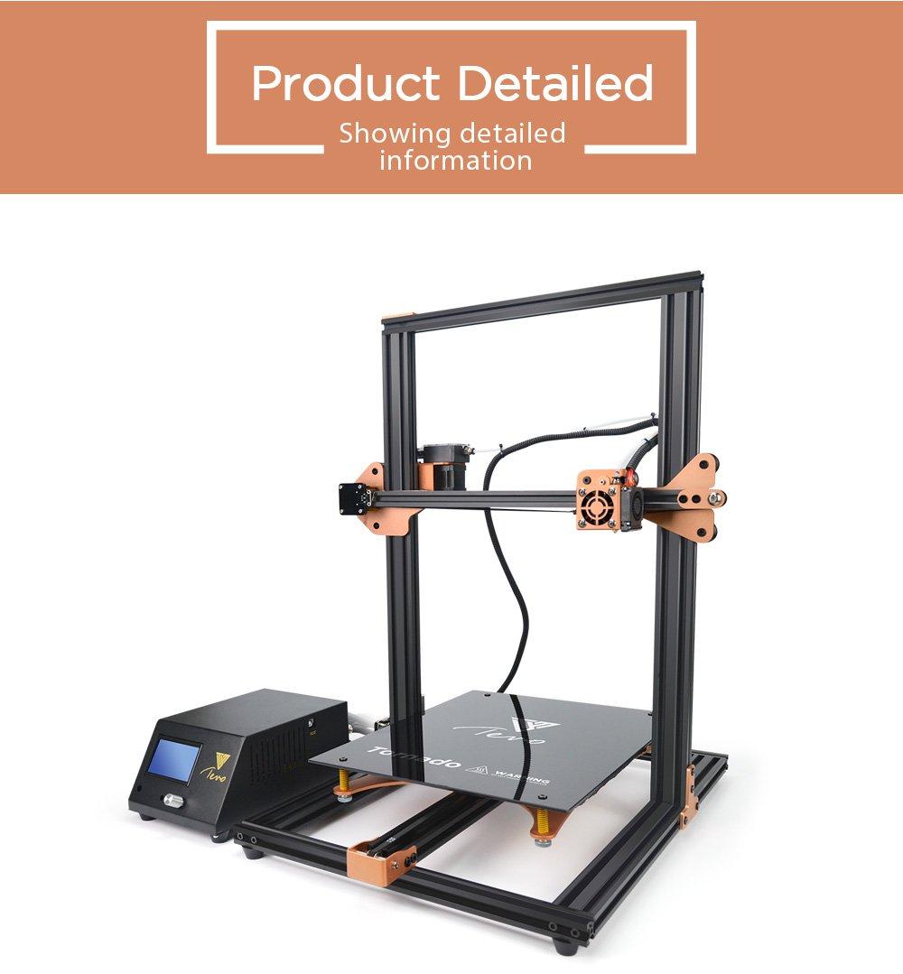 TEVO Tornado Impresora 3D, impresión 3D DIY 3D más ensamblada ...
