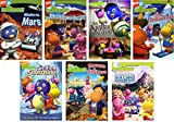 The Backyardigans Movie Collection Vol 2, DVD Pack - Mission to Mars/ Polka Palace Party/ We Arrrr Pirates/ The Snow Fort/ Singing Sensation/ Movers & Shakers/ The Legend of the Volcano Sisters