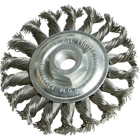 Silverline 398772 Twist-Knot Wheel, 100 mm SLTL4