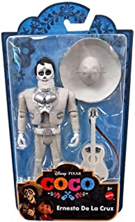 Disney Pixar COCO Movie - ERNESTO DE LA CRUZ FIGURE & GUITAR
