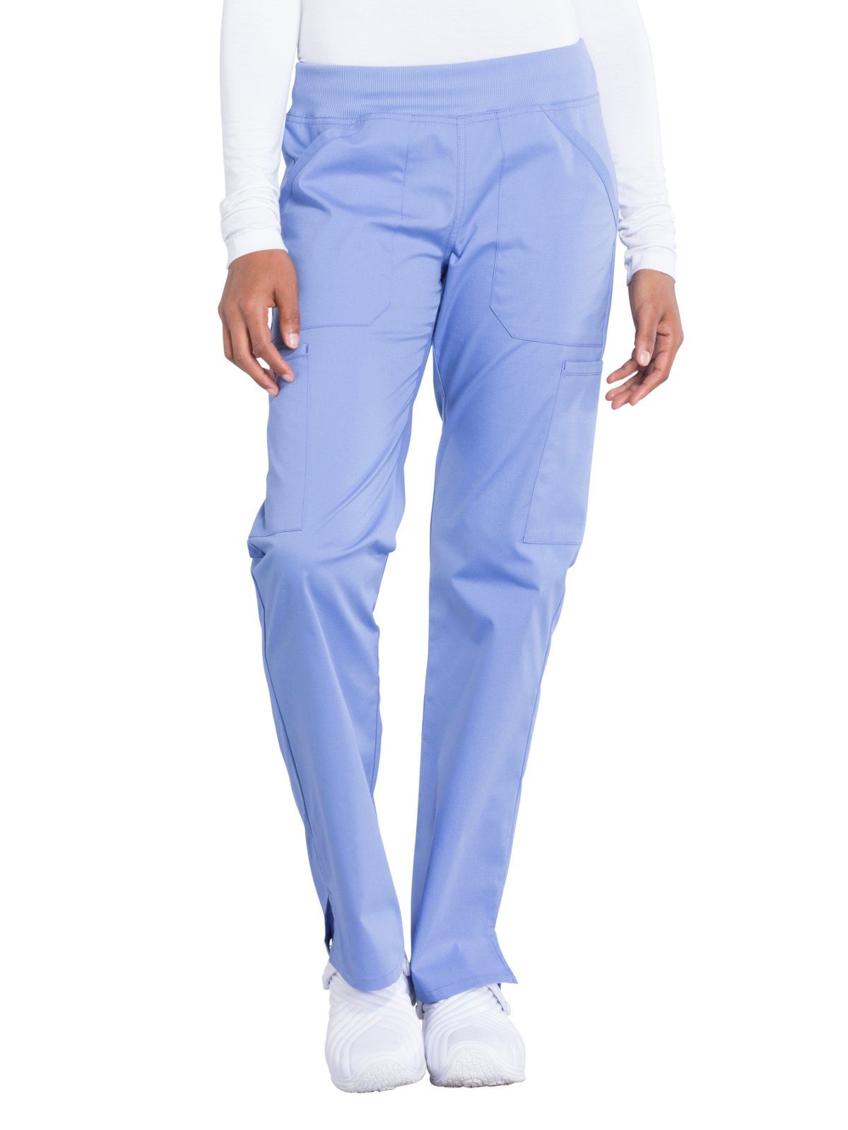 Cherokee Workwear Professionals WW170 Cargo Pant- Ciel Blue- 2X-Large Tall