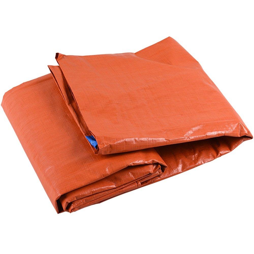 YNN 4. La tela para la lluvia es un producto hermético. Después de que la lluvia se detiene, la tela para la lluvia se debe levantar a tiempo. La diferencia de temperatura entre el día y la noche es relativamente grande, y se liberará vapor de agua, lo que causará la ilusión de una fuga de tela impermeable. 防水シート B07FNVY14K 8*10m  8*10m
