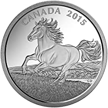 $100 Pure Silver Coin of Canadian Horse (2015) from the Royal Canadian Mint