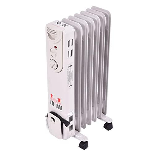 TANGKULA Electric Oil Filled Radiator Portable Heater Review
