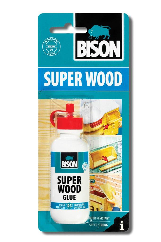 1 x 6305288 Bison D3 75g Super Interior Exterior indoor Outdoor Wood Adhesive Glue Super Strong