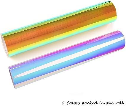 biee vinilo de vinilo Vinilo cromado (2fogli/unidades 2 colores): Amazon.es: Hogar