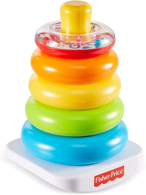 Fisher-Price Rock-A-Stack, Stacking Toy Rings