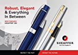 Sheaffer 300 Chrome Rollerball Pen with Gold Tone