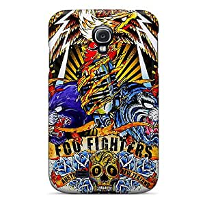 Shockproof Cell-phone Hard Covers For Samsung Galaxy S4 (bmY15299VxYI) Customized Trendy Foo Fighters Skin