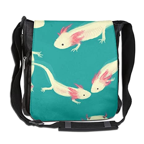 CUW BBCUW Unisex Stylish Satchel Messenger Bags Adorable Axolotl Crossbody Shoulder  Bag Hiking Bags For School 91e2cb3c6b91b