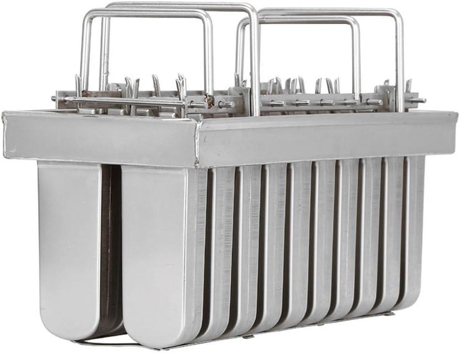 20pcs Stainless Steel Molds for Popsicles Maker Ice Lolly Ice Cream Pops Bars Stick Holder (D)