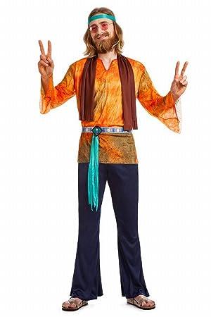 Siente la esencia WoodStock con nuestro disfraz hippie
