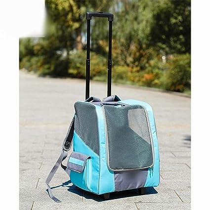 ad0c2e4e8a99 Amazon.com : Necoco Pet Backpack Dog Cat Back Box Bag Luggage ...