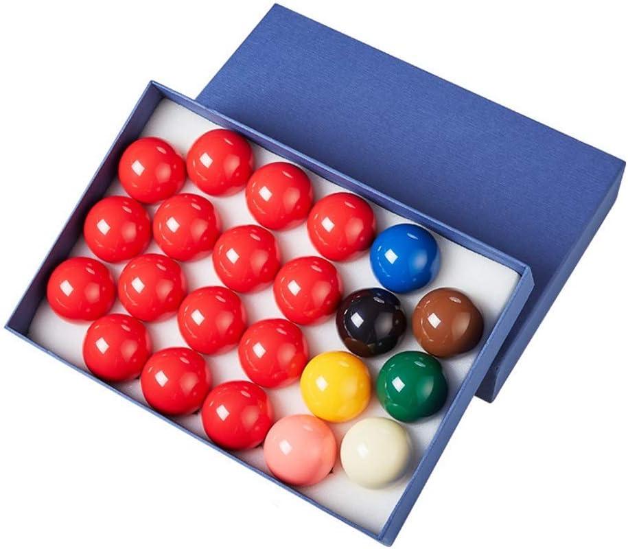 ZHTY Bola de Billar Snooker 52.5 mm, regulación de tamaño Completo de Resina fenólica Bola 22 Bola de Billar: Amazon.es: Deportes y aire libre