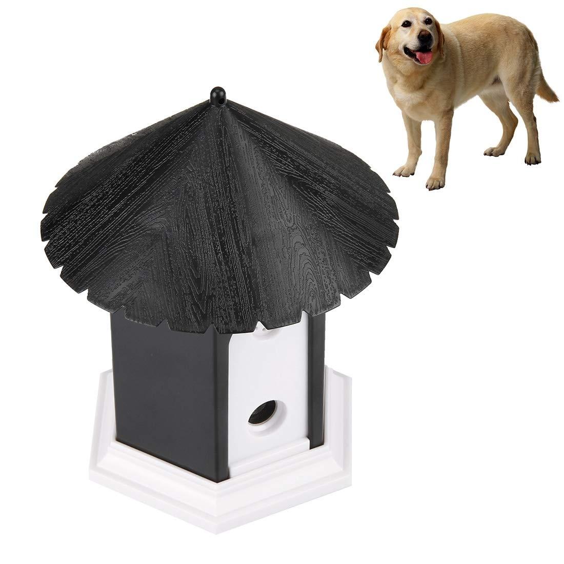 AntCompany Pet-Only Bella Abbastanza Bella Moda Confortevole a Distanza Pet Dog Outdoor Bark Control Training House Sicurezza
