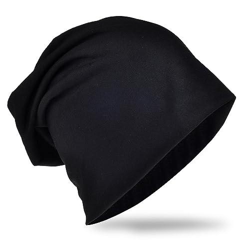 Miobo – Cappello / Berretto Unisex, alla Moda, Diversi Colori nero Taglia unica