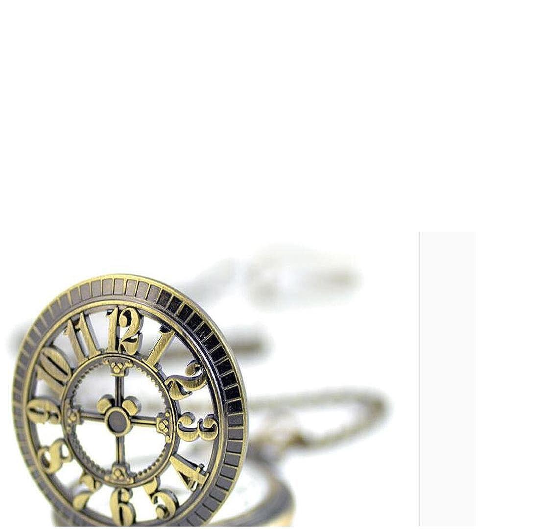 ouyang Digital Plantilla Vintage cuarzo reloj de bolsillo: Amazon.es: Relojes
