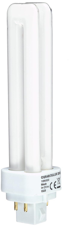 Osram DULUX D//E 18W//830 G24q2 100W FS1 146mm Kompakt-LLp Warmton dimmbar