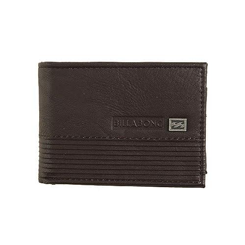 BILLABONG Vacant, Bolsa y Cartera para Hombre, Marrón (Chocolate), 1x1x1 cm (W x H x L): Amazon.es: Zapatos y complementos