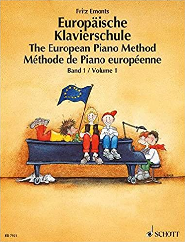 Europäische Klavierschule Bd 1 Band 1 Klavier Amazon De Emonts Fritz Hoyer Andrea Bücher