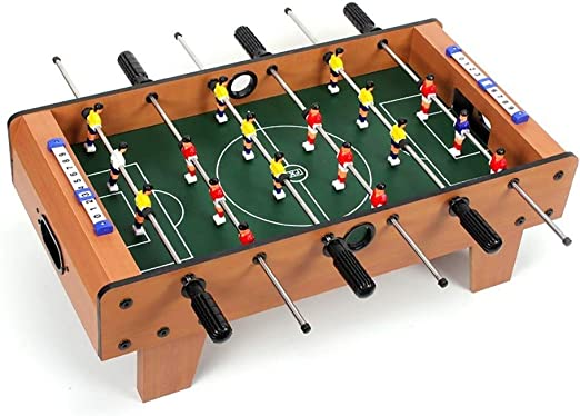 Futbolines Recuerdos De Juguete De Mesa Fútbol Máquina De Escritorio Boy Adult Entertainment Doble De Madera For Niños (Color : Wood Color, Size : 69 * 37 * 24cm): Amazon.es: Hogar