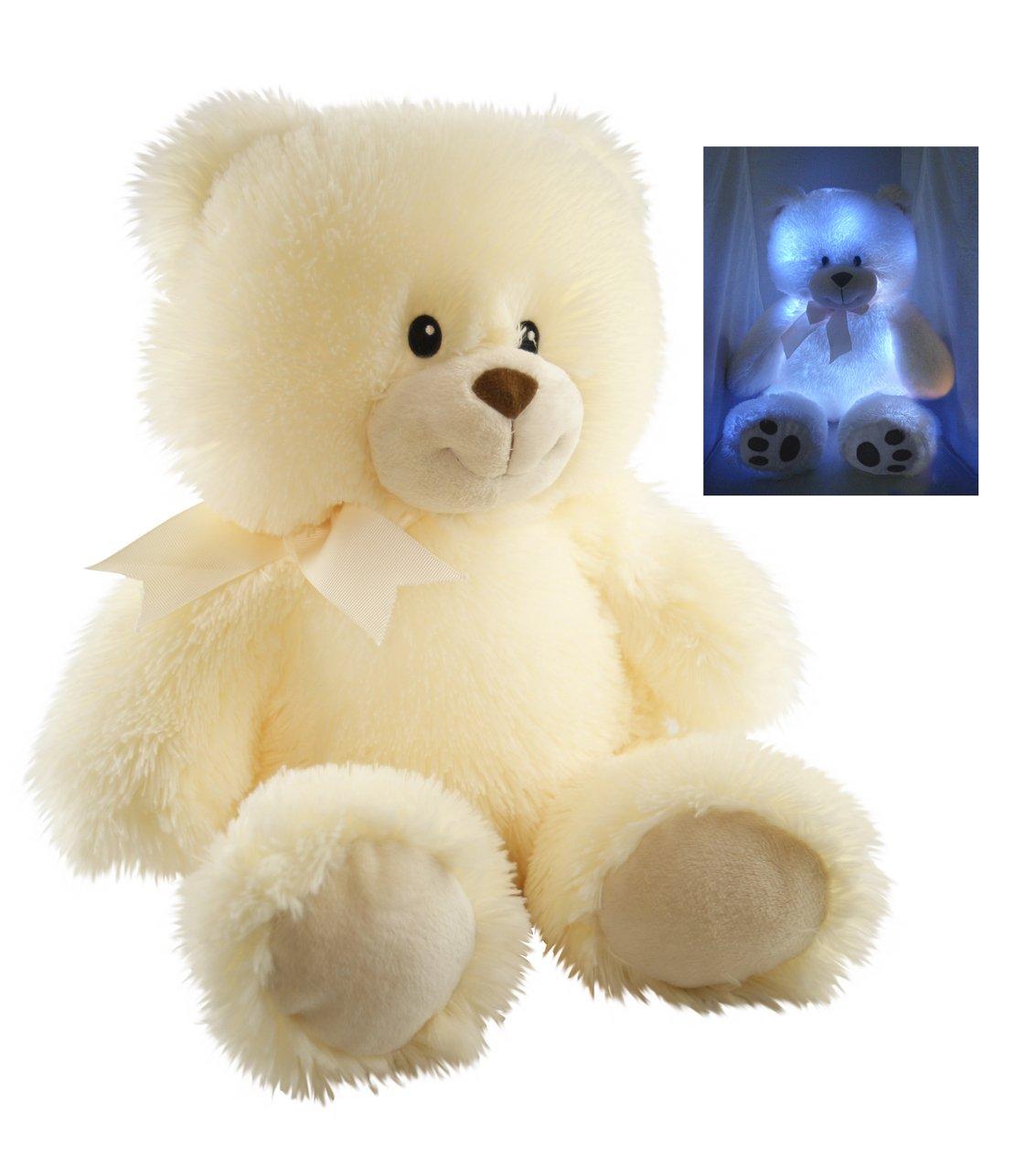 Cuddle Barn New Nite Brite Pals Stuffed Toy Teddy Bear Cuddles The Cub
