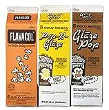 Flavacol, Caramel Glaze, & Sweet Corn Glaze
