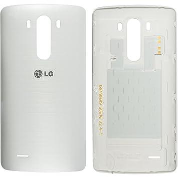 Original LG tapa trasera blanco/blanco para LG G3 D855 con ...