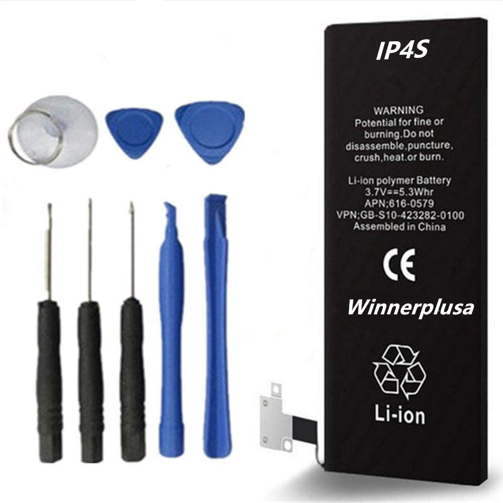winnerplusa Battery for iPhone 4s IP4S