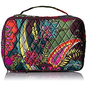 Vera Bradley Large Blush and Brush Makeup Case, Autumn Leaves