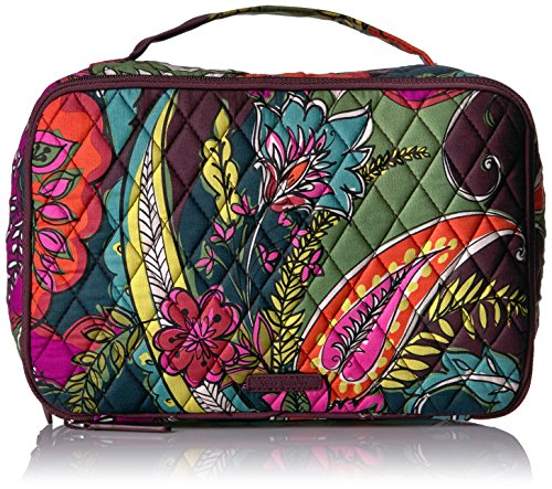 Autumn Leaf Pattern (Vera Bradley Large Blush and Brush Makeup Case, Autumn Leaves)