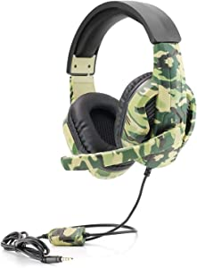 eLUUGIE Game Headset Gaming Headphones with Microphone Noise Cancelling Mic Compatible with Xbox One/ PS4/ Nintendo Switch/PC Mac Computer