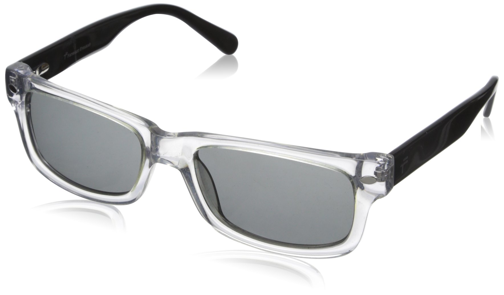 Fatheadz Eyewear Men's Matty Polarized Rectangular Sunglasses