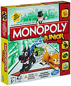 Hasbro Spiele A6984100 - Monopoly Junior, Spiel