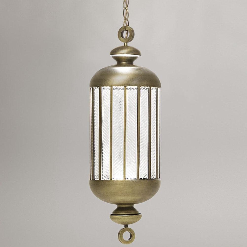 BJVB Mode-Crystal Laterne Design Kronleuchter Creative (Kupfer/Kupfer Leuchter) 26CM